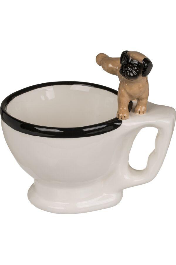 Mugg Toastol med Hund