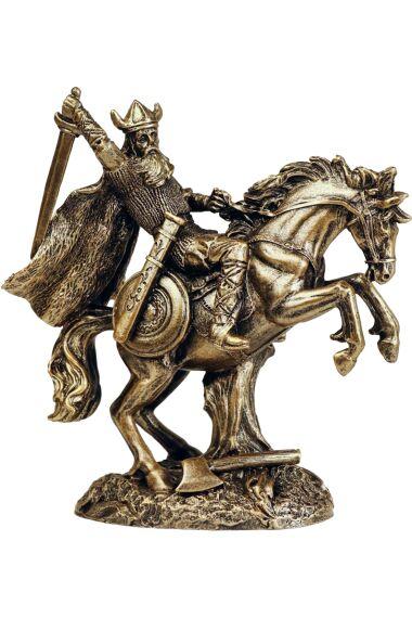 Asagud Viking Odin På Häst