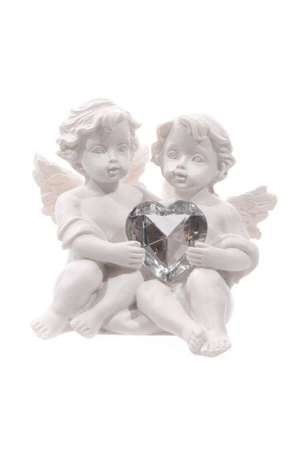 Ängel Med Kristall Hjärta