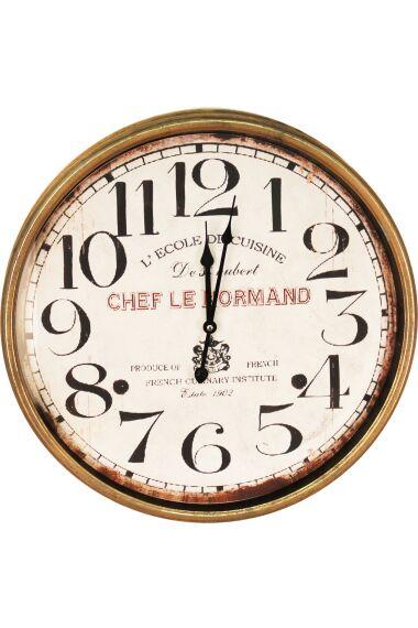Klocka Vägg Chef Le Normand