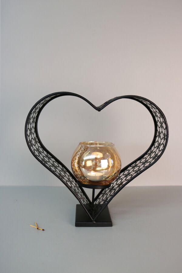 Ljusstake Heart