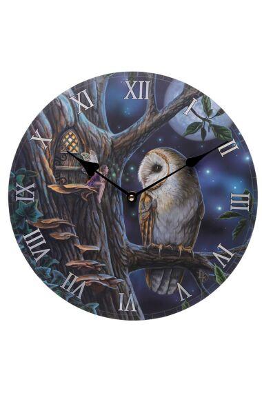 Lisa Parker Klocka Owl & Fairy Tales