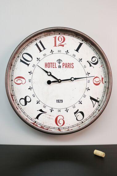 Klocka Vägg Hotel Paris