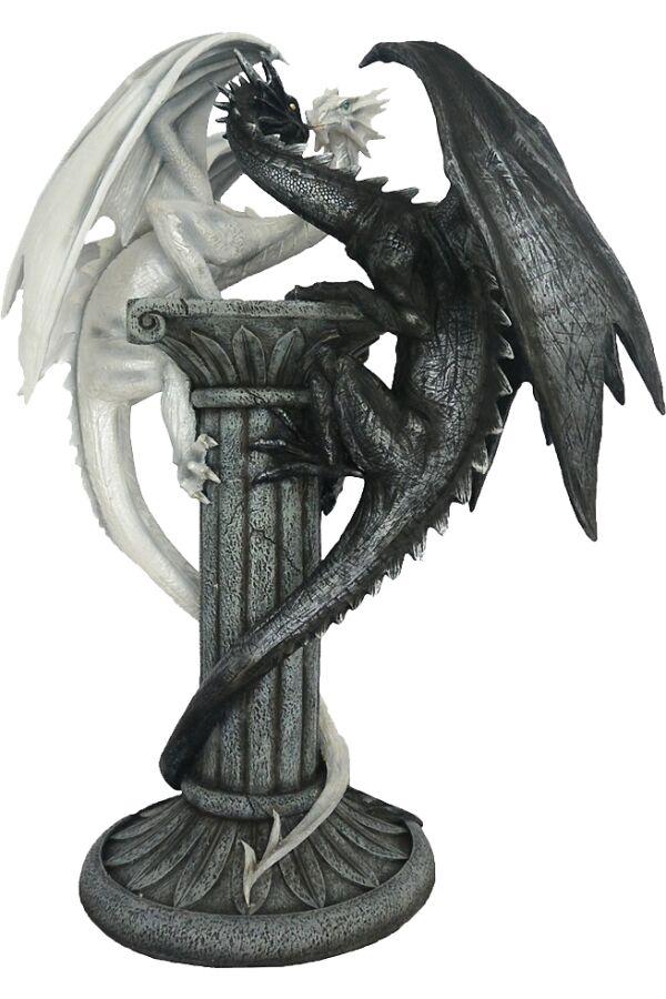 Drake Black & White Dragon