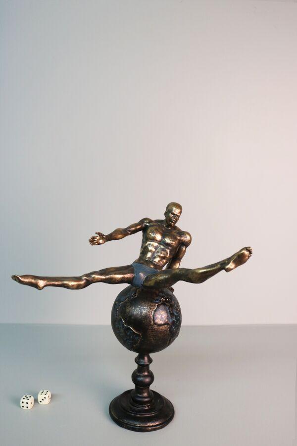 iOne Art Athlete On The Globe