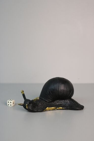iOne Art Black Snail