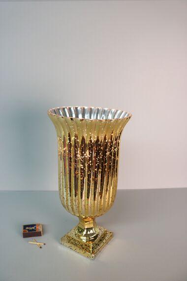 Glaslykta Gold