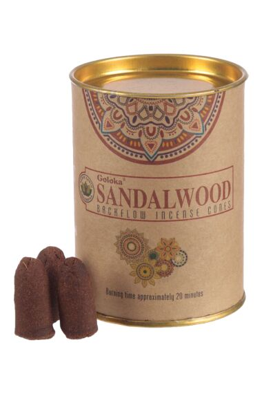 Rökelsekoner Goloka Backflow Natures Sandalwood