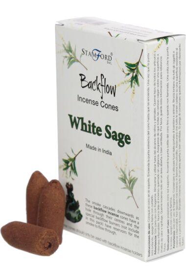 Rökelsekoner Stamford Backflow White Sage