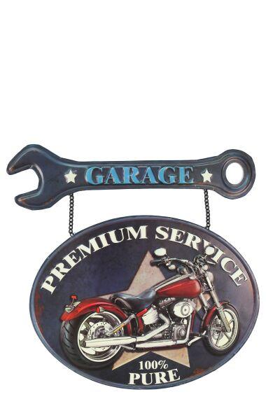 Retro Metallskylt Garage Premium Service