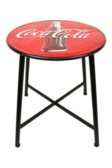 Retro Metallpall Cola