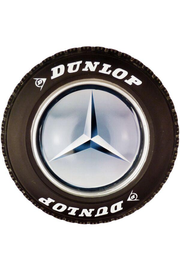 Retro Metallskylt Tire