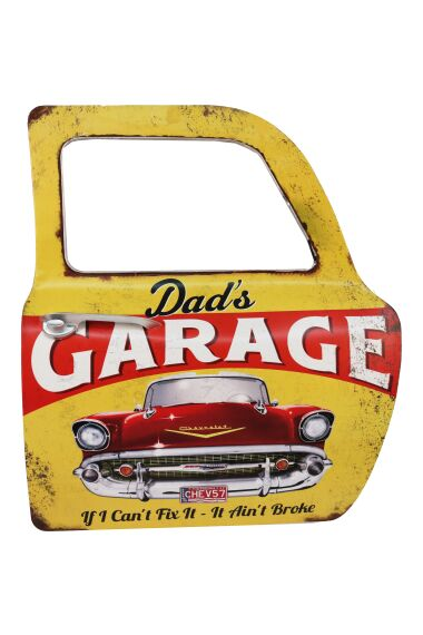 Retro Metallskylt Dad`s Garage