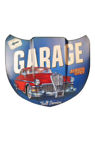 Retro Metallskylt Garage Full Service
