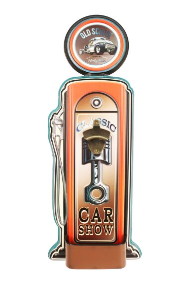 Retro Metallskylt Bottle Opener Classic Car