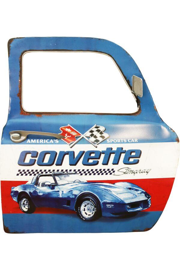 Retro Metall Skylt Sports Car