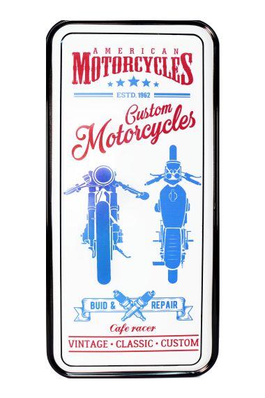 Retro Metallskylt Classic Motorcycles