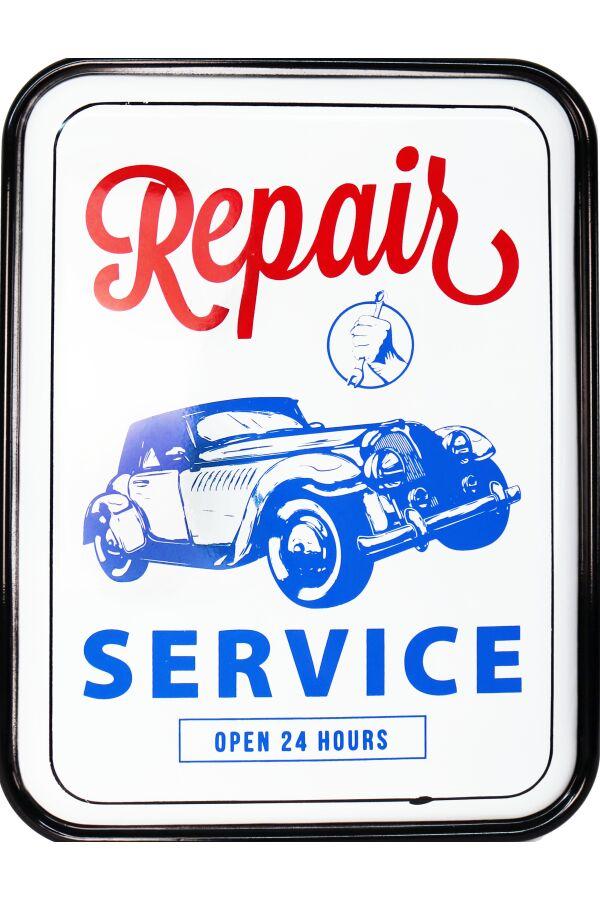 Retro Metallskylt Repair Service