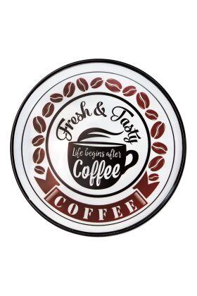 Retro Metallskylt Coffee