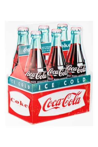 Retro Metallskylt Ice Cold Coke