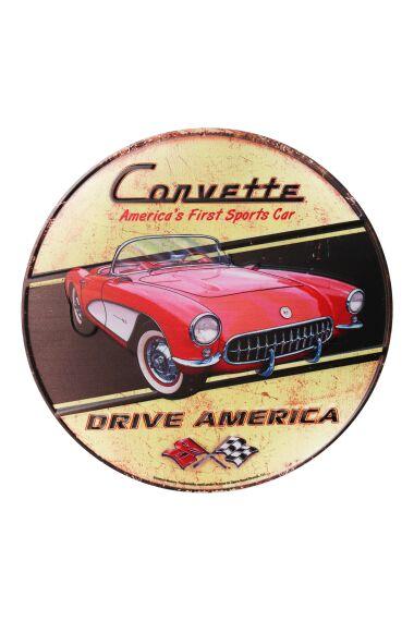 Retro Metallskylt Drive America