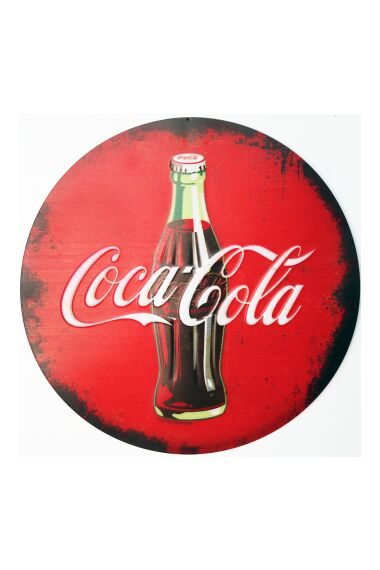 Retro Metallskylt Coke