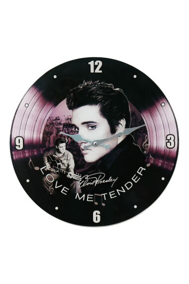 Klocka i Glas Elvis