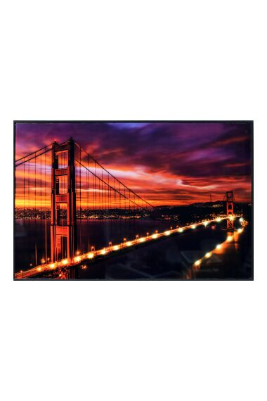 Tavla i Glas San Francisco Bridge LED Light