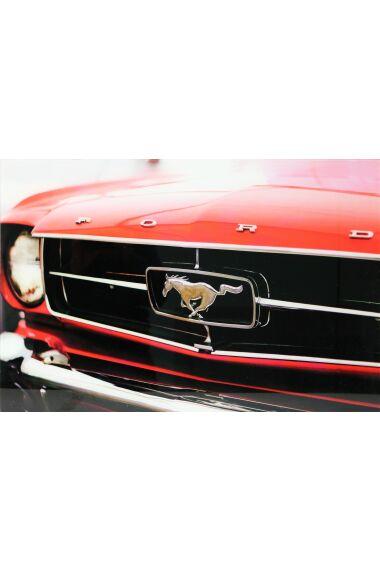 Tavla i Glas Ford Mustang
