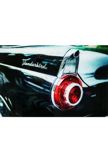 Tavla i Glas Ford Thunderbird