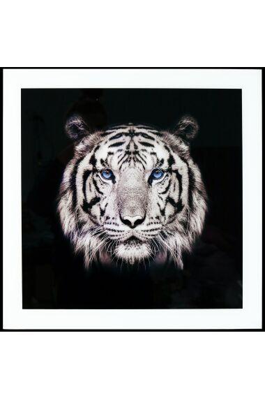 Tavla i Glas Tiger Blue Eye