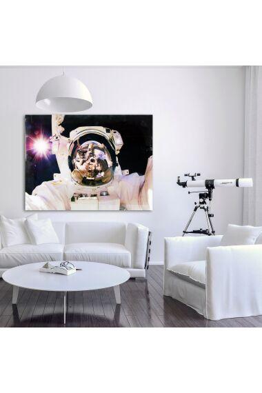 Tavla i Härdat Glas Man In Space