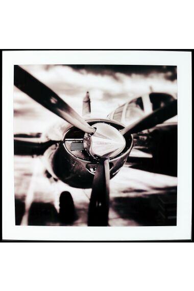 Tavla i Glas Old Plane