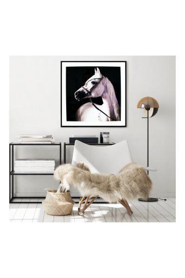 Tavla i Glas White Horse