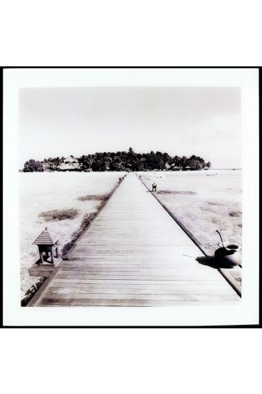 Tavla i Glas Pier To Island