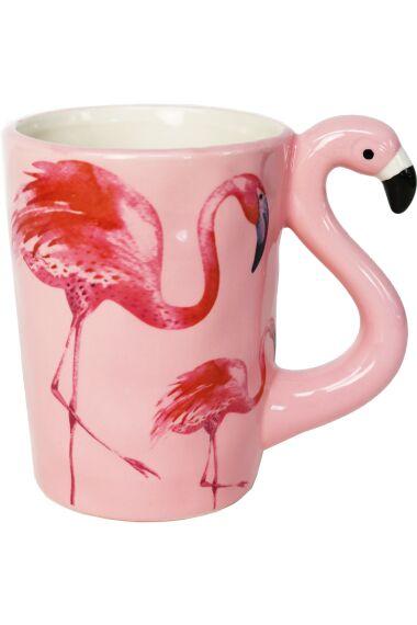 Mugg Flamingo