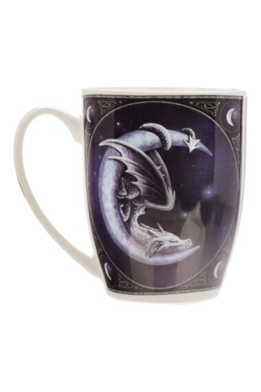 Lisa Parker Dragon And Moon Bone Mug