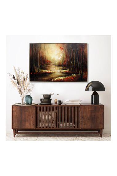Tavla Oljemålning Forest