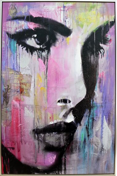 Tavla Oljemålning Street Art