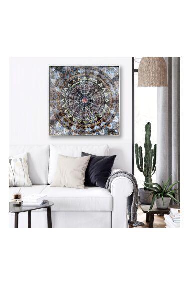 Tavla Oljemålning Mandala