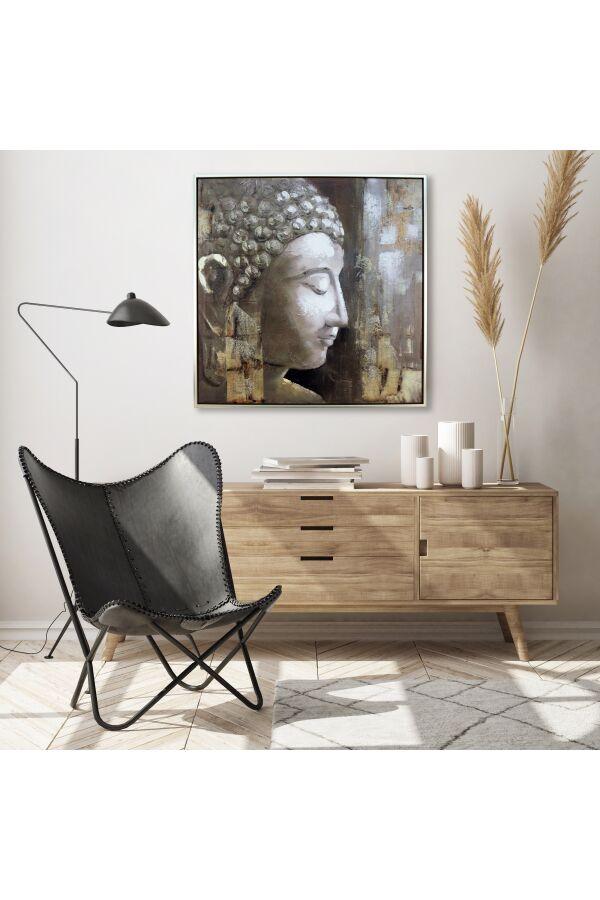 Tavla Olje Målning Med Ram