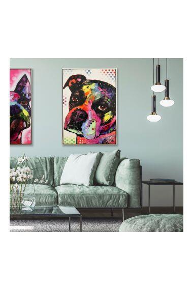 Tavla Oljemålning Dog