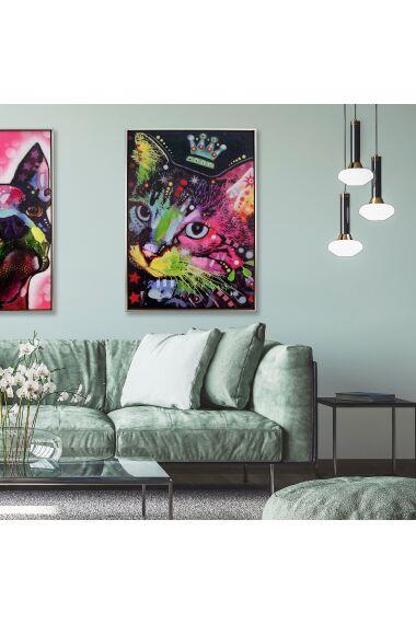 Tavla Oljemålning Cat