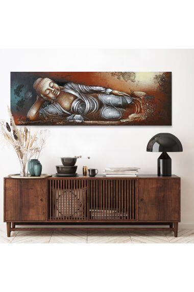 Tavla 3D Oljemålning Buddha