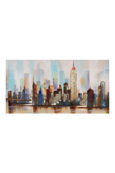 Tavla Oljemålning New York