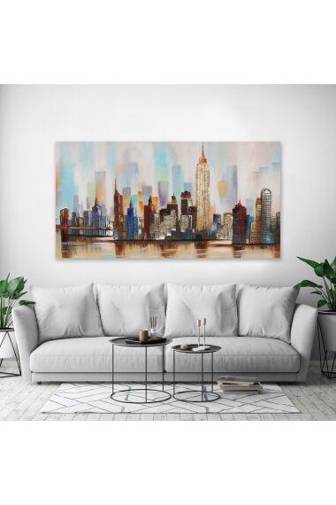 Tavla 3D Oljemålning New York