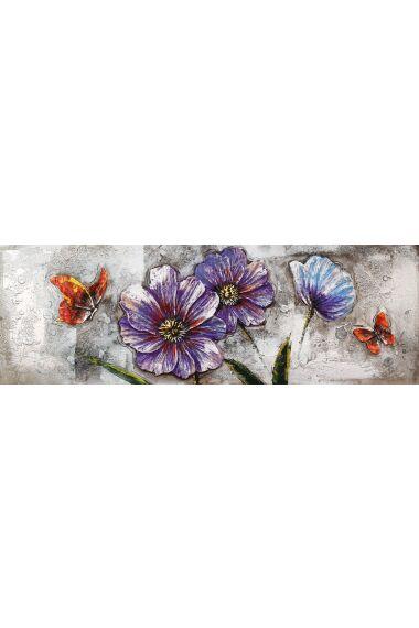 Tavla Oljemålning Flower