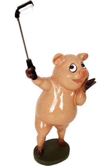 Gris Selfie Funny Pig