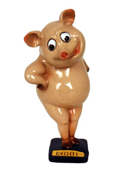Gris På Vågen Funny Pig