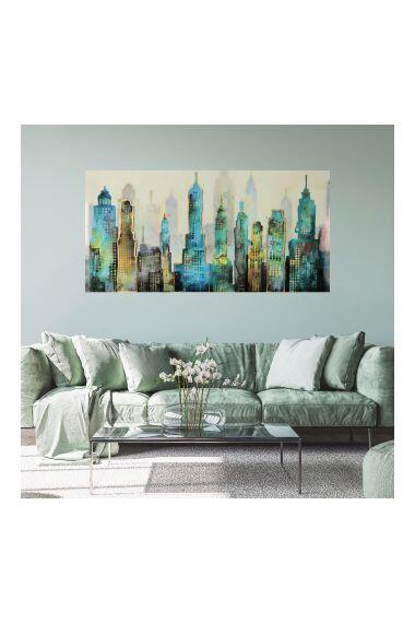 Tavla City Artprint Dibond